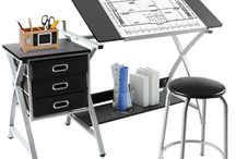 Adjustable Drawing Desk