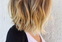 Cheveux couleur ombrée