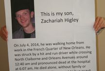 Help find my son's killer / by Cat Higley