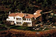 ~ Celebrity Homes ~ / Celebrity homes / by Janet Taylor