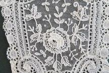 Mixed Lace / Examples of mixed lace styles