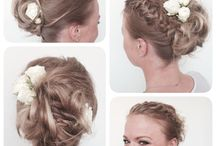 My work at Hendrix Hair www.hendrix.no / Wedding updo