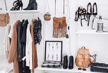 Garderobs struktur
