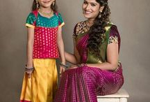 Dazzling Diwali Collections in Anya Boutique Coimbatore / #diwali_collections #anyacbe #sarees #blouses #kidswear