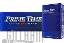 Primetime Little Cigars / A great option for smokers on the go, Prime Time Little cigars are compact yet loaded with flavor. Crafted for those moments when the craving suddenly strikes, these cigars are perfect when you are low on time. They come with a filter, so you can save up on the time taken for trimming. Simply light them up and enjoy a quick and fulfilling smoke. They are packed with choice tobaccos cultivated in Scottsdale, Arizona and then carefully rolled in Colorado Claro wrappers.