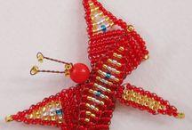 Perles / Perles de verres - Fait main - artisanat