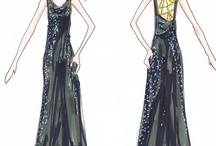 Linda Asaf Fashion Illustrations