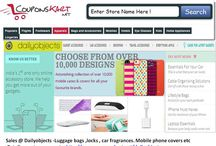 Dailyobjects  Coupons  / Dailyobjects is an online shopping store in India .It offers mobile phone covers , car fragrances , luggage bags , locks etc . Dalyobjects coupons for discount and sales are available at http://www.couponskart.net/dailyobjects-coupons