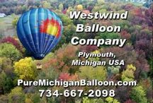 Christmas Gift ~ Pure Michigan ~ Hot Air Balloon Ride / http://www.PureMichiganBalloon.com This Christmas give a gift they'll never forget! A hot air balloon ride from Westwind Balloon Company! Hot air balloon flights over Michigan are world renowned offering photographers a panoramic platform to capture the stunning beauty of our great state.