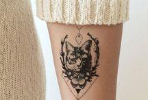 Gato tatto