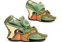 Shoes - 18th c Pattens