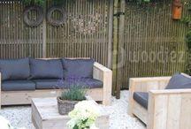 VERKOOP | Tuinmeubels van steigerhout / Steigerhouten tuinmeubels geven karakter en sfeer aan je tuin of terras. Wij maken alle tuinmeubels, tuintafels, loungemeubels en tuinstoelen helemaal op maat. Bestel nu op woodiez.nl/verkoop!