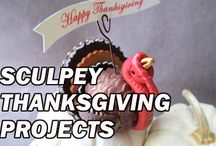 Sculpey Thanksgiving/ Fall Projects / Sculpey Thanksgiving/ Fall Projects / by Sculpey