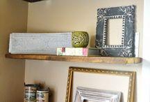 DIY shelves / by Rebekah Field