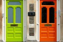 Doors & Windows / Kapı ve pencere örnekleri.