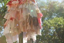 Rag dresses