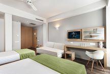 hotel - bedroom