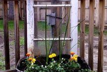 deur as blomdecor