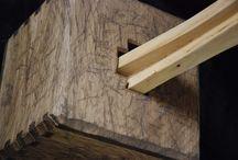 Cube  - Kostka / wooden sculpture - dřevěná socha