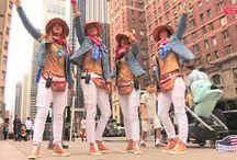 VIDEOMEDIASET: AMERICA ARRIVIAMO!! / Le ragazze di Donnavventura sono arrivate negli States e dal cuore di New York, Manhattan, parte la loro spedizione!