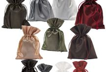 pouches / jewellery pouches, organza pouches