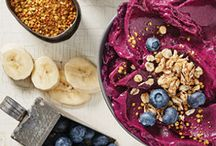 Smoothie Bowls / Meet the next big health-food craze that's garnering loads of attention. Frosty, layered and overflowing with nutrients, these impossibly delicious smoothie bowls let you get creative with a plethora of vibrant and textured toppings for the most stunning breakfast you've ever woken up to.