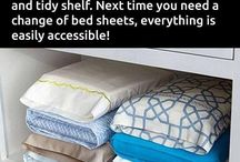 Life Hacks / Tips and tricks for tidy home etc