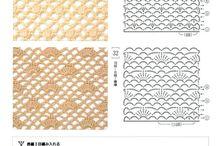 háčkované vzory / háčkování