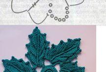 Crochet Flor rara