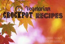 Vegetatrian crockpot recipes