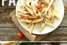 Pasta Inspiration / Pasta inspiration to use kelp noodles or zucchini noodles / by Kate Criswell (Kate's Healthy Cupboard)
