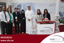 UHS at Arab Health 2015 / University Hospital Sharjah is proud to be part of Arab Health 2015.  You can visit us at Stall No. CC135, Concourse, World Trade Centre, Dubai till 30th January 2015.