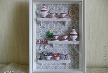 3D quilling about kitchenware