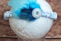 Feathers pióra i piórka / Naturalne pióra ptasie, dostępne w sklepie Craft Style oraz przykłady ich wykorzystania