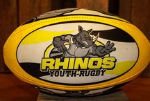 Rugby Balls / Custom-designed rugby balls produced by Rugby Athletic!