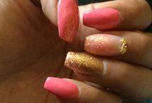 Mis uñas usadas / Uñas