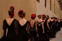 Flamenco šaty