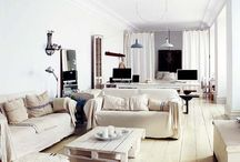 Salons (déco) / Des salons tout confort, très originaux ou ultra-basiques, dans lesquels on se sentirait comme chez soi ...