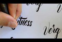 Dibujo de letras