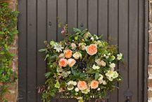 wreaths & garlands / by Maggie Jones