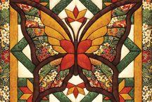 tableau  papillon