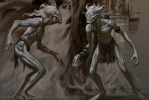 Out of the Deep - Antagonist / Inspirations diverses pour le/les ennemis