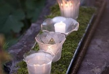 Candles outdoor