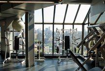 GYM DESIGN. / Gym interior design, hospitality design