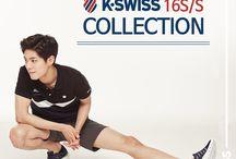 박보검의  K-SWISS, 박케이 / https://www.facebook.com/KSwissKorea/ http://www.k-swiss.co.kr/