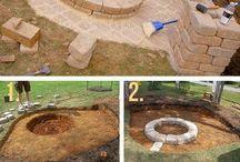 Fire pit & patio ideas