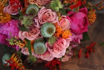 Colorful Bridal Bouquets / My favorite bridal bouquets with bold color.