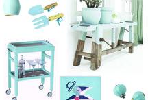 Von Haus Moodboards / Colour the Month Moodboards for Von Haus Design Blog