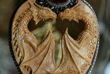collar dragones