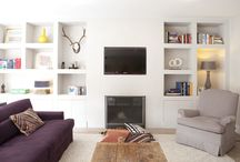 Living and cooking space / Lounge, Cook, creatieve,comfort, love, pastel, cool Scandinavian white